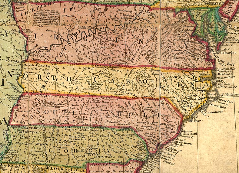 The Carolinas  13 Colonies